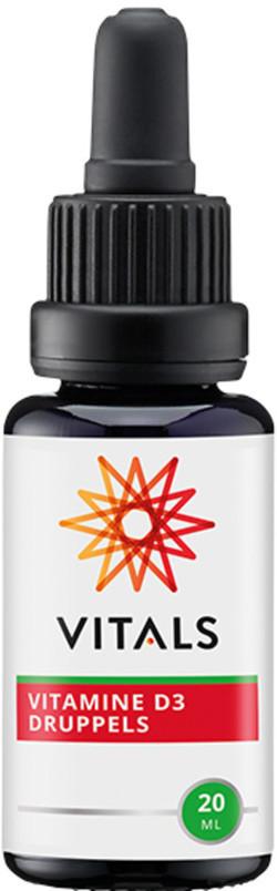 Vitals Vitamine D3 200 IE Druppels 20 milliliter