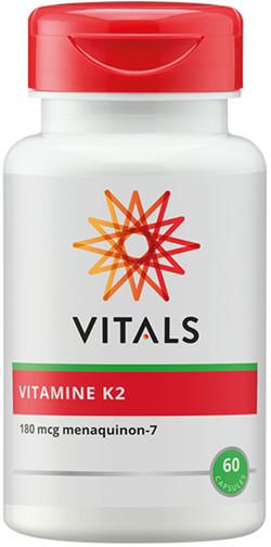 Vitals Vitamine K2 180 mcg 60 vegetarische capsules