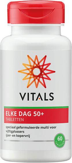 Vitals Elke Dag 50+ 60 tabletten