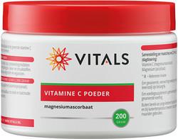Vitals Vitamine C poeder magnesiumascorbaat 200 gram