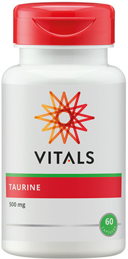 Vitals Taurine 500 mg 60 vegetarische capsules