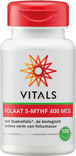 Vitals Folaat 5-MTHF 400 mcg