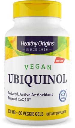 Healthy Origins Ubiquinol Vegan