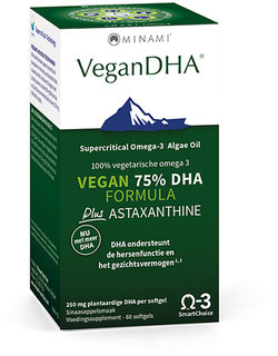 Minami Nutrition VeganDHA 60 softgel capsules
