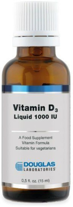 Douglas Laboratories Vitamin D3 1000 IU Liquid 15 milliliter