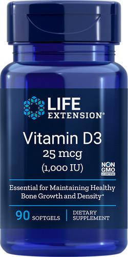 Life Extension Vitamine D3 1000 IE