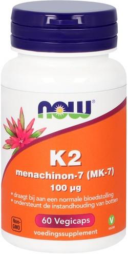 NOW Foods K2 Menachinon-7 100 mcg 60 capsules