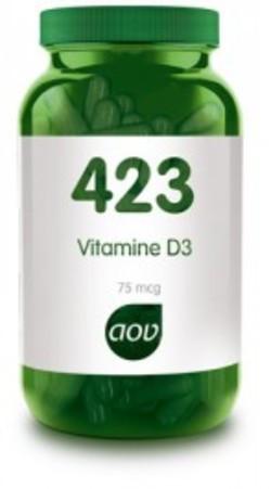 AOV Vitamine D3 3000 75 mcg 423 AOV 90 vegetarische capsules