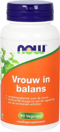 NOW Foods Vrouw in Balans 90 capsules