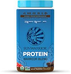 Warrior Blend Biologische Proteïne Chocolade Sunwarrior