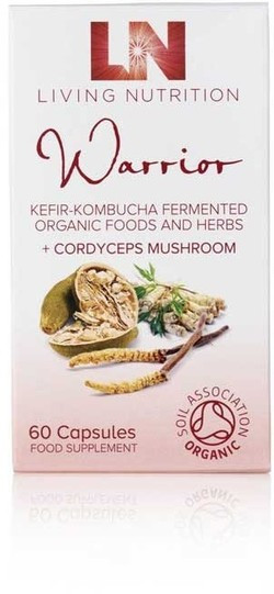 Living Nutrition Warrior met Cordyceps 60 capsules biologisch