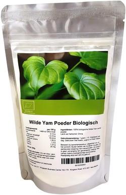 Wilde Yam Poeder biologisch