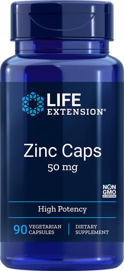 Life Extension Zinc 50 mg 90 capsules