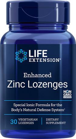 Life Extension Enhanced Zinc Lozenges 30 zuigtabletten