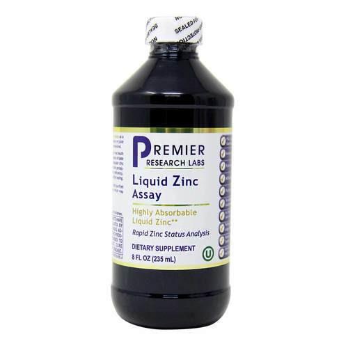 PRL Nutritionals Liquid Zinc Assay