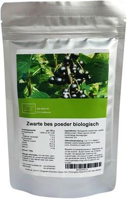 Blackcurrant (Zwarte bes) Poeder 125 gram biologisch
