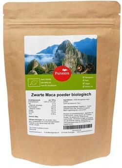 Zwarte maca poeder kopen bij Superfoodsonline 250 gram