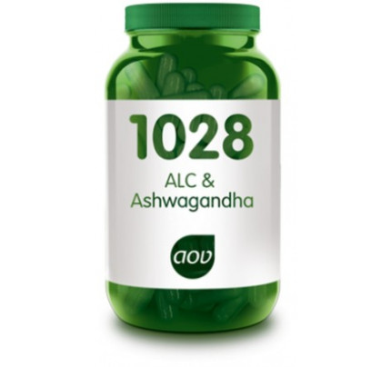 ALC + Ashwagandha vegacaps AOV 1028