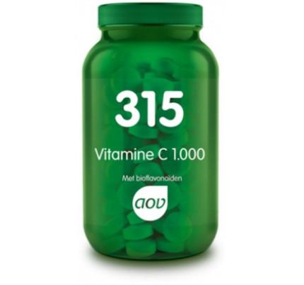 Vitamine C 1.000 met bioflavonoiden tabletten AOV 315