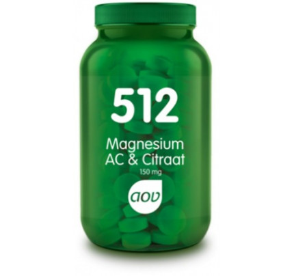 Magnesium AC & Citraat tabletten AOV 512
