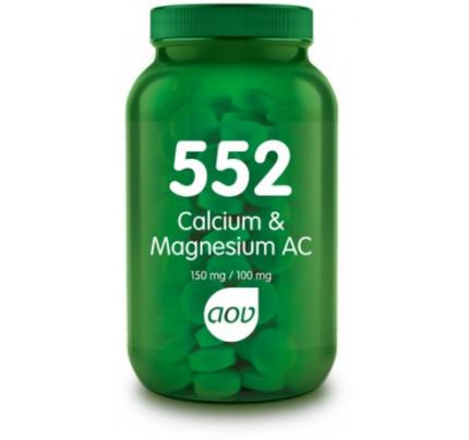 Calcium & Magnesium AC tabletten - 552