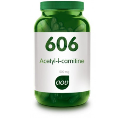 Acetyl-l-carnitine vegacaps 90x500mg AOV 606