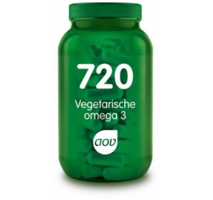 Vegetarische omega 3 vega softgels AOV 720
