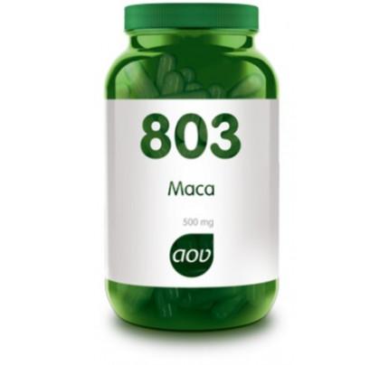Maca extract 4:1 vegacaps 60x500mg AOV 803