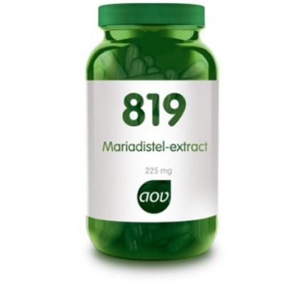 Mariadistel-extract vegacaps AOV 819