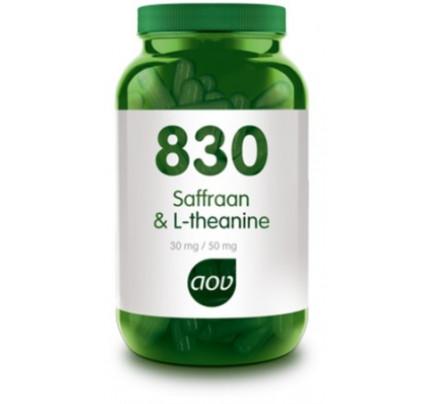 Saffraan & L-theanine vegacaps AOV 830