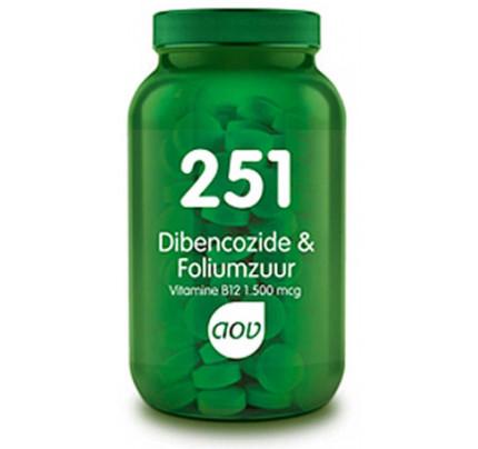 AOV Dibencozide & Foliumzuur zuigtabletten 251