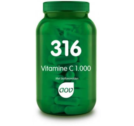 Vitamine C 1000 mg met bioflavonoiden - 316