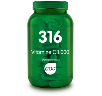 Vitamine C 1000mg met bioflavonoiden tabletten AOV 316