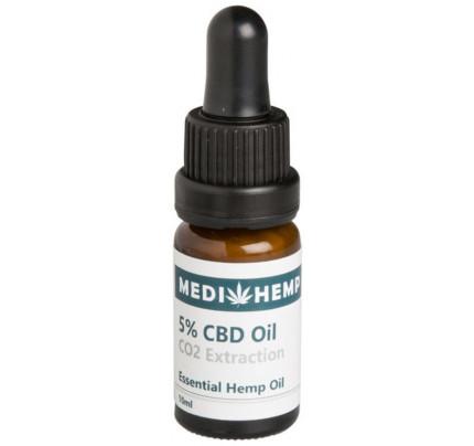 CBD Olie CO2 5% (1.75 mg)
