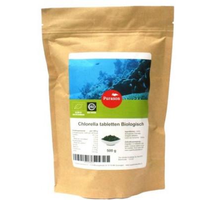 Chlorella tabletten biologisch 500mg