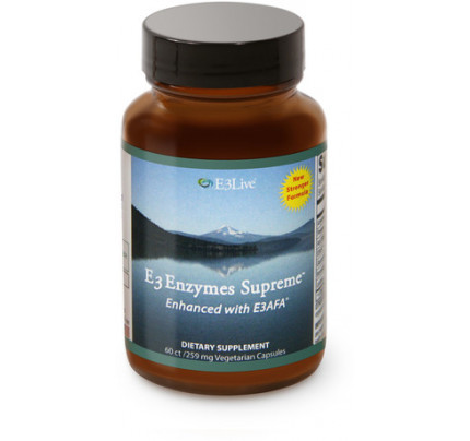 E3AFA Enzymes Supreme 50g E3Live