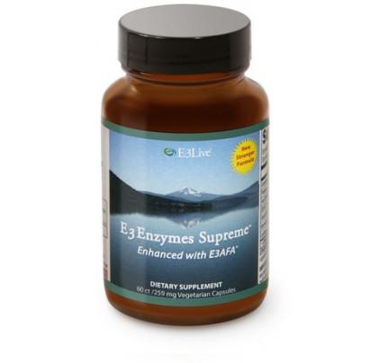 E3AFA Enzymes Supreme vegacaps 259mg E3Live