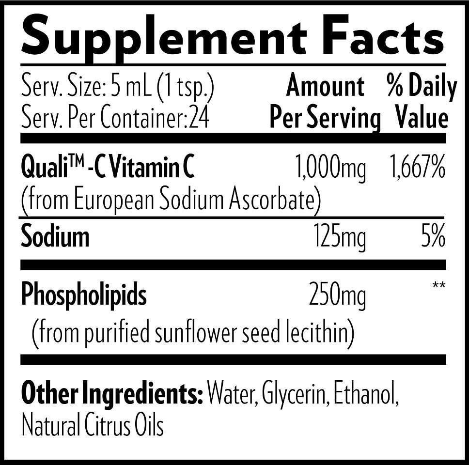 quicksilver liposomal vitamin c