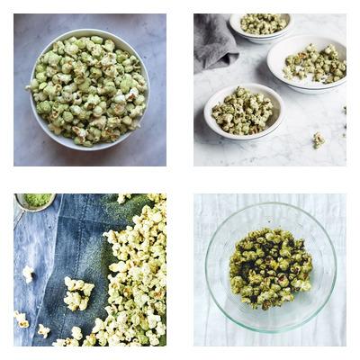 spirulina popcorn
