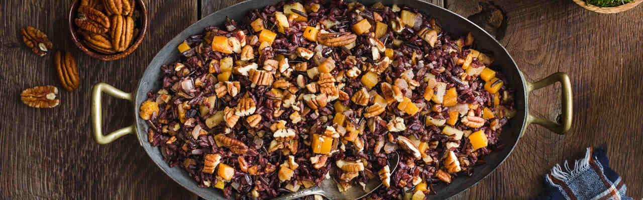 wilde rijst met cranberry en collageen